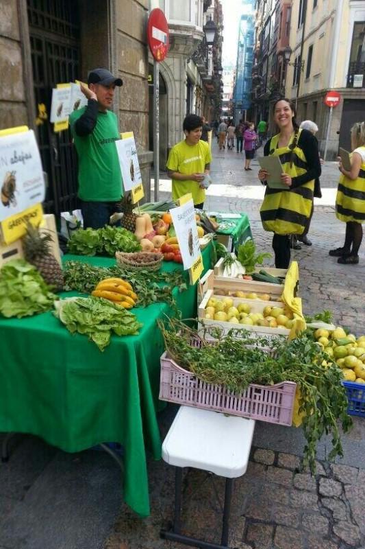 Día de Acción Europeo para Salvar a las Abejas - Bilbao
