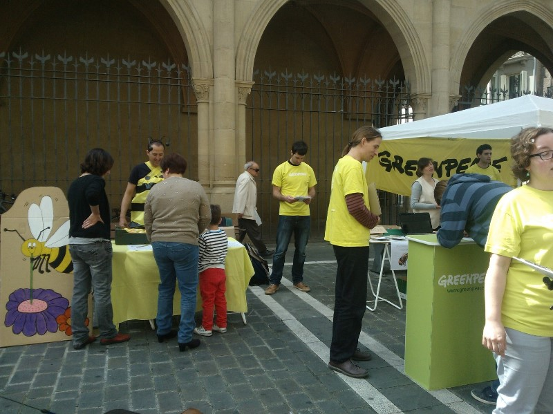Día de Acción Europeo para Salvar a las Abejas - Navarra