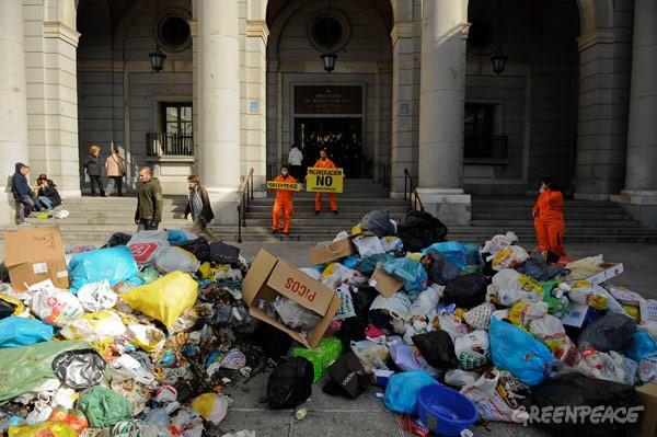 Residuos en Europa