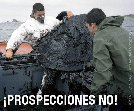 ¡Prospecciones no!