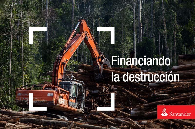 El banco santander anunciar ma ana que deja de financiar for Manana abren los bancos en espana