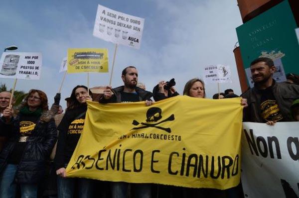 contraMINAcción chama ás organizacións sociais de Galiza para paralizar o proxecto de Lei de Fomento de Iniciativas Empresariais