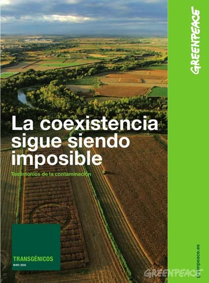 Cover of La coexistencia sigue siendo imposible: Testimonios de la contaminación